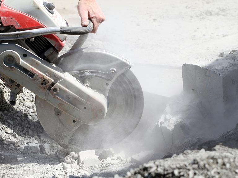 cięcie betonu piłą nabudowie